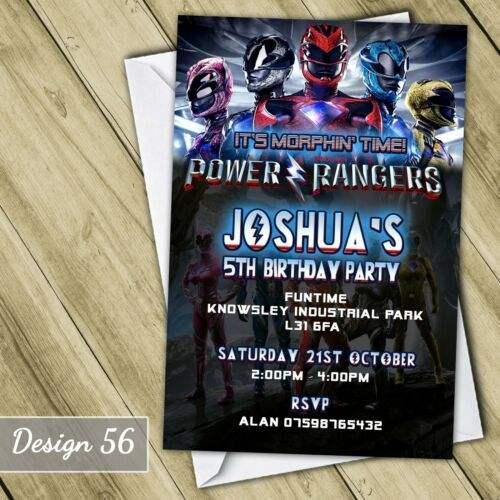 Personalised Avengers Age of Ultron Invitations Birthday Party Invites