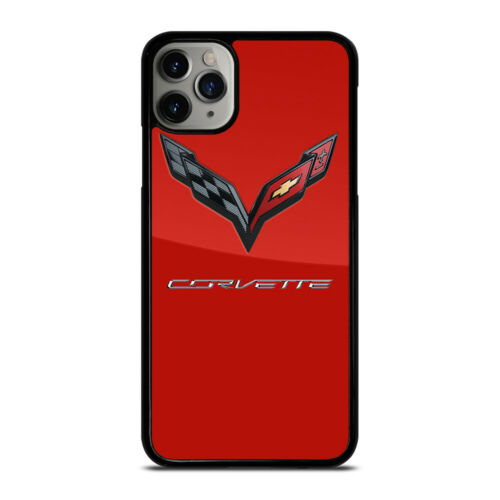 Advertising CORVETTE CHEVY LOGO RED iPhone 6/6S 7 8 Plus X/XS XR ...