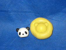Panda Head Silicone Push Mold #18 For Craft Chocolate Fondant Resin Clay Candy