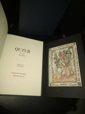 Books Art Drawings Rational Qutub Andrew Chumbley Limited Deluxe First Ed #30 Of 36 Signed W Unique Talisman