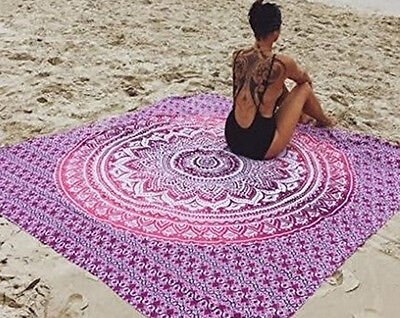 Indian Tapestry Wall Hanging Mandala Throw Hippie Bedspread Gypsy Boho Blanket #