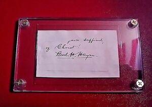 Paul-Hamilton-Hayne-034-HENRY-TIMROD-034-signed-signature-Poet-1830-1886-autograph
