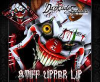 Yamaha 1991-2015 Dt125r Dt125re Dt125x stiff Upper Lip Clown Graphics Wrap