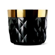 """Sieger by Fürstenberg """"Sip of Gold Noir"""" Cushion black Becher"""
