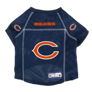 Chicago-Bears-NFL-LEP-Dog-Pet-Mesh-Jersey-Navy-Licensed-Sizes-XS-XL