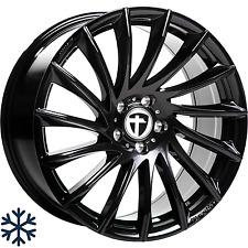 "4x Tomason TN16 7,5x17"" 4x100 ET35 ML63,4 black painted Dacia Honda Seat VW"