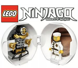 LEGO-Ninjago-Masters-of-Spinjitzu-Zane-sta-Kendo-formazione-Pod-25pc-Set-nuovo-giocattolo
