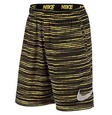 Nike 9-Inch Dri-Fit Training Predator Men/'s Shorts S XL M XXL Black//Yellow L
