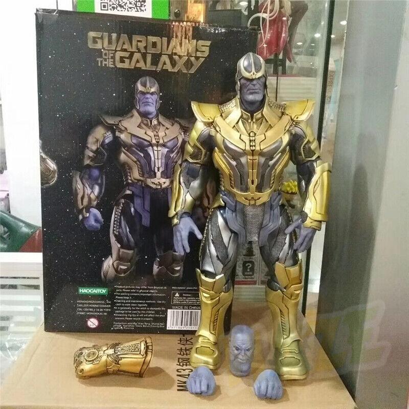 HC Toy Thanos Gardiens de la galaxie Avengers Figurines 1  6 neuves dans la boît