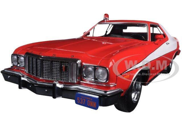 1976 Ford Gran Torino Starsky und Stall TV Serie 1975-79 1 18 Grünlight 19017