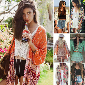 2018-Women-039-s-Beach-coat-Sexy-Chiffon-bikini-and-kimono-blouse-sunwear