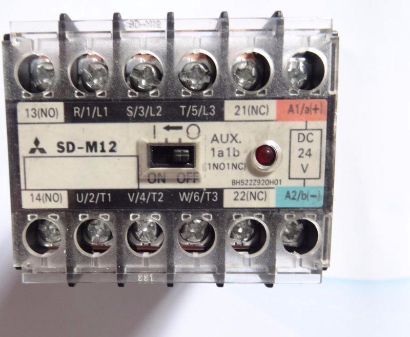 Fst  New  Mitsubishi  SD-M12  DC24V  Dc contactor free shipping