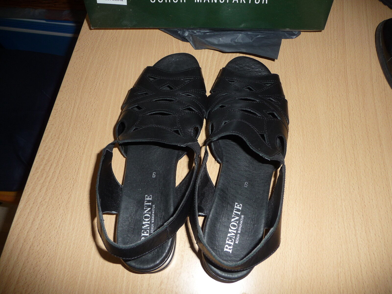 Remonte Sandaleette  Gr. 9 schwarz Weite G