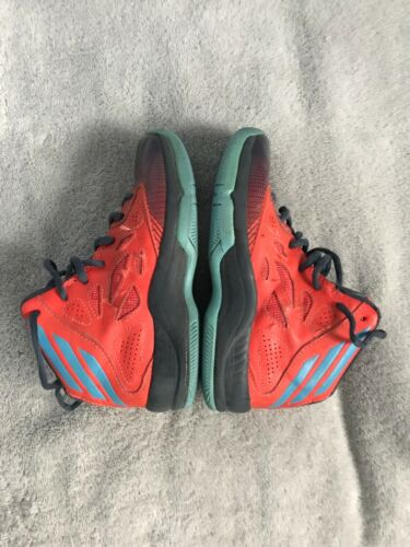 Adidas Orange Baloncesto High Neon Tops Sc8 entrenamiento Mid 12 Sz Youth Black Fx7Fr