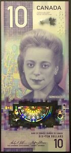 Banknote-2018-Canada-10-Ten-Dollar-Polymer-Viola-Desmond-UNC