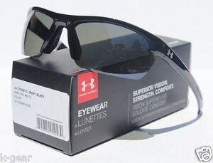 c708c044fa3c Image is loading UNDER-ARMOUR-Stride-XL-POLARIZED-Sunglasses-Black-Grey-