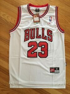 super popular 69fc6 f4db3 Details about Michael Jordan Hardwood Throwbacks #23 White Chicago Bulls  Kids/Youth Jersey
