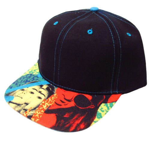OFFICIAL Ibiza Rocks Snapback Cap Logo Party People Trucker Hat Black RRP £50.00
