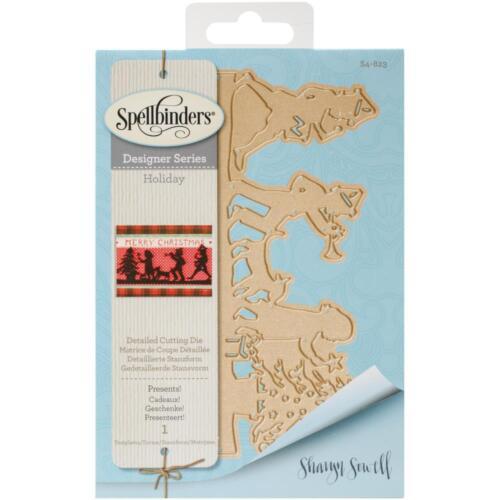 Spellbinders Designer Series Die ~ PRESENTS ~ S4-823