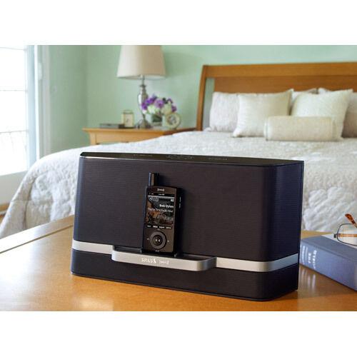 charger,Antenna,Remote++ Sirius XM Radio Lynx Portable Speaker Docking Station