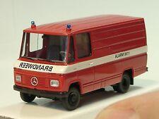 Brekina Mercedes L 408 BRANDWEER/ NL, Kasten - 36805