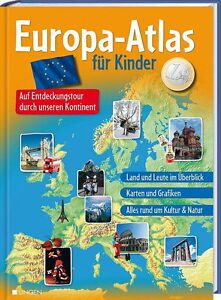 europa atlas f r kinder auf entdeckungstour durch. Black Bedroom Furniture Sets. Home Design Ideas