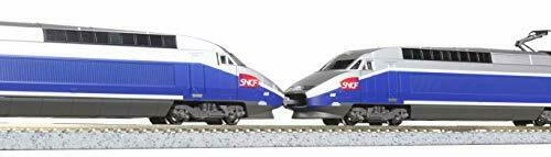 Kato N scale TGV Réseau Duplex 10-Car Set 10-1529 Modèle Train Japon