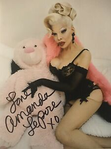 Amanda-LePore-Autographed-Signed-8x10-Transsexual-Sexy-Drag-Queen