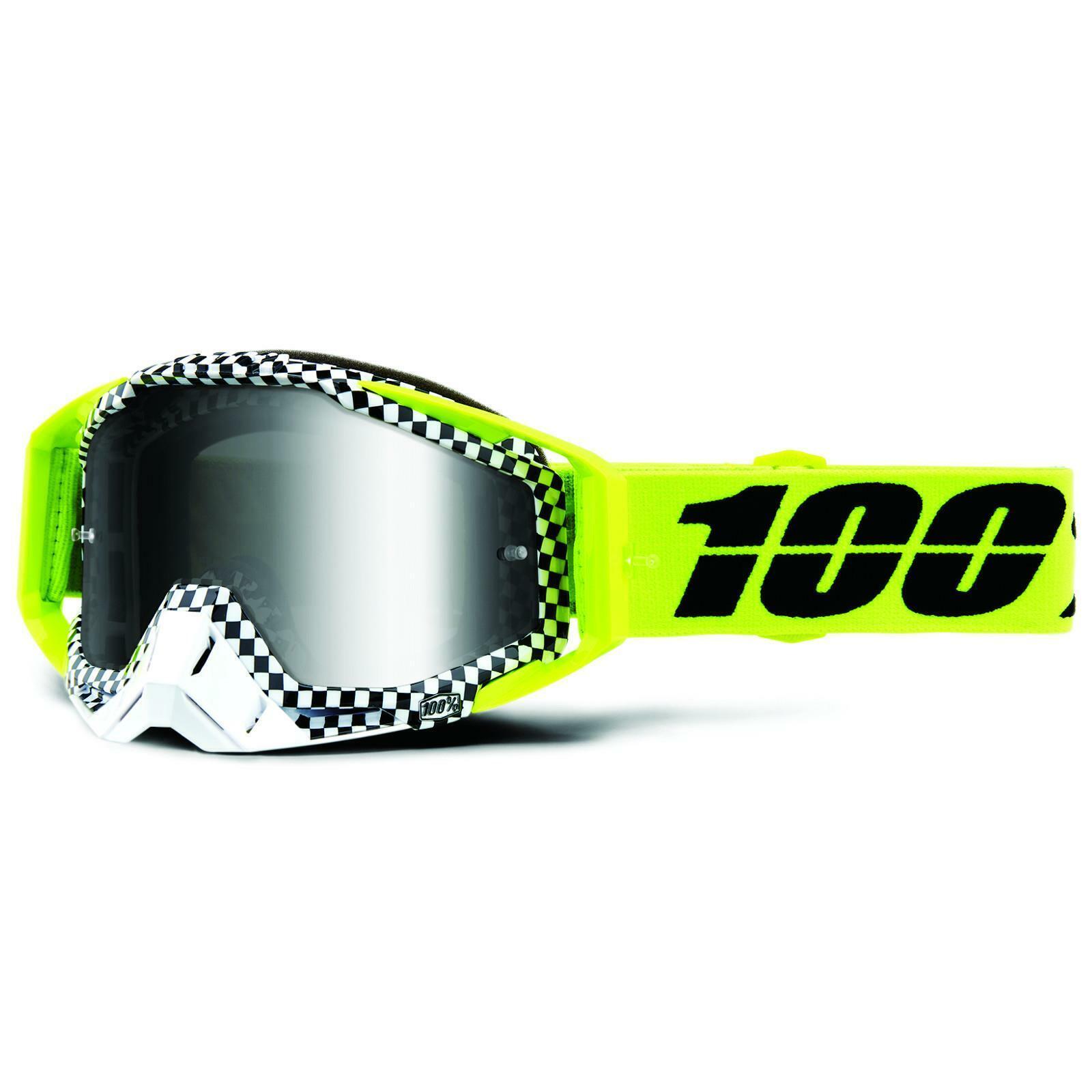 100/% Crossbrille The Racecraft Gr/ün