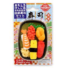 Iwako Delivery Sushi Set eraser Made in japan