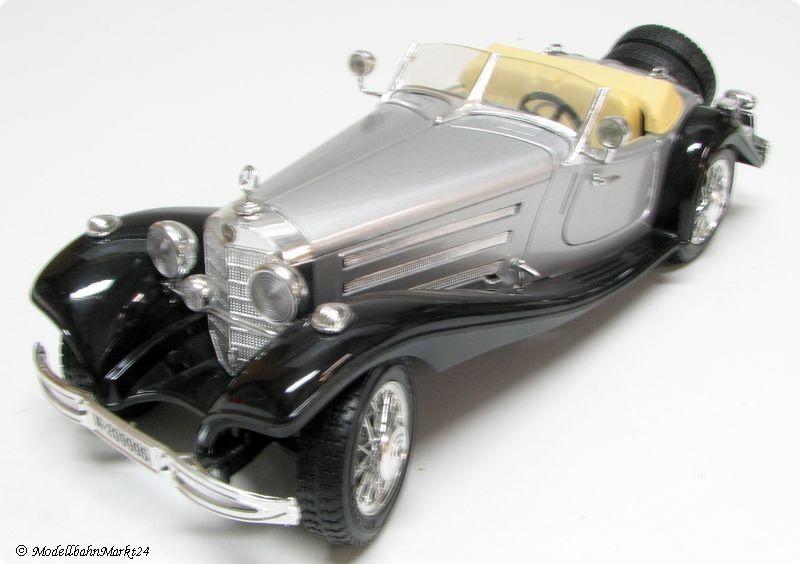 Bburago Mercedes-Benz 500k roadster 1936