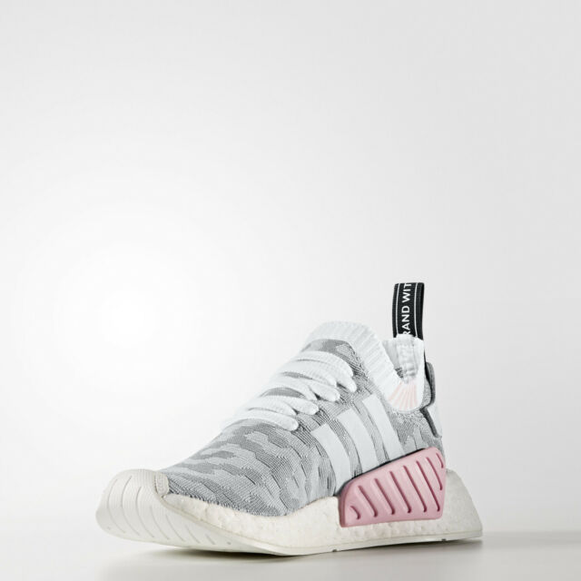 a87ca6c8a61e5 adidas Originals NMD R2 White Black Pink BY9520 Women 8 for sale ...