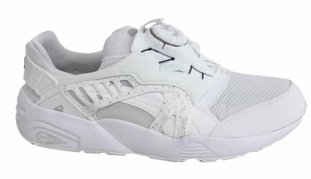 PUMA Disc Blaze Triple White Classic Men Running Shoes SNEAKERS ... 05f883019