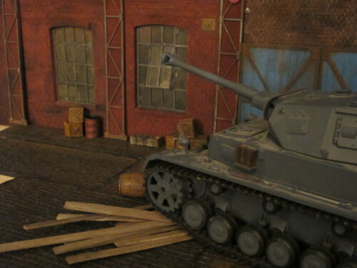 Pavés Plaque Trottoir WWII tank diorama decoration Accessoires 1/16