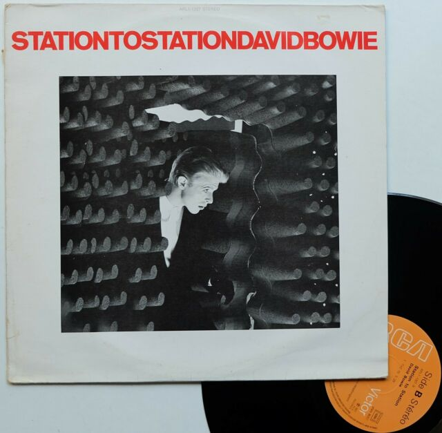 "LP 33T David Bowie  ""Station to station"" - (TB/TB)"
