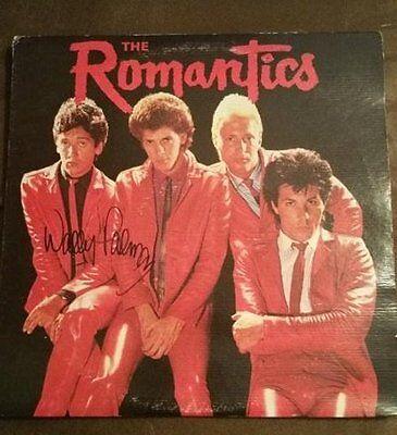 Autographs-original Entertainment Memorabilia W/coa Aggressive Wally Palmar Of The Romantics Signed Autographed Record Album
