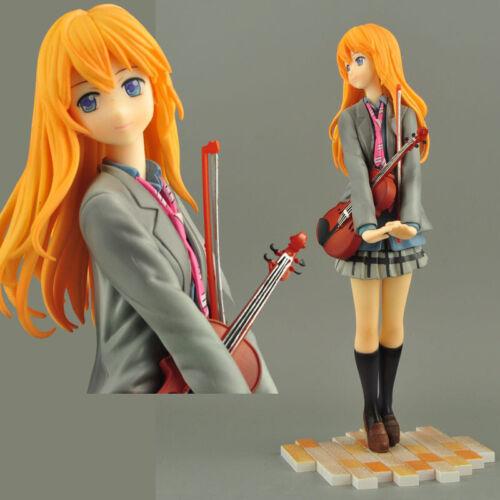 Your Lie in April Shigatsu wa Kimi no Uso Miyazono Kaori Figure new no box Anime