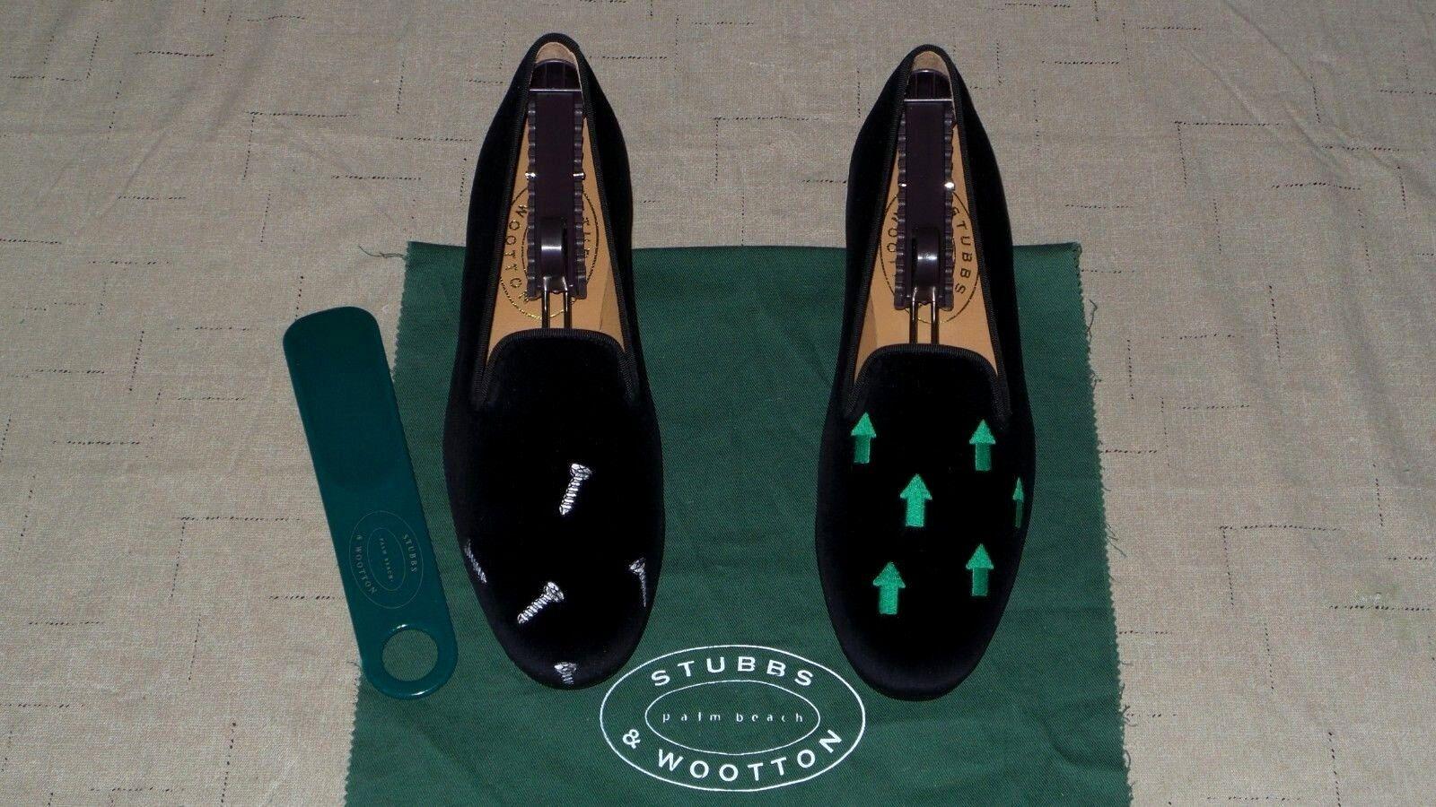 NEW! Women's $450 Stubbs and Wootton Velvet