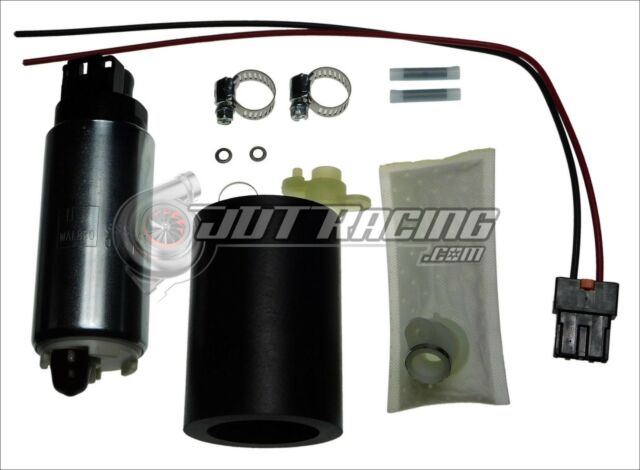 WALBRO 255LPH HP Fuel Pump w// Install Kit for 1991-1994 Nissan Sentra SE-R SR20