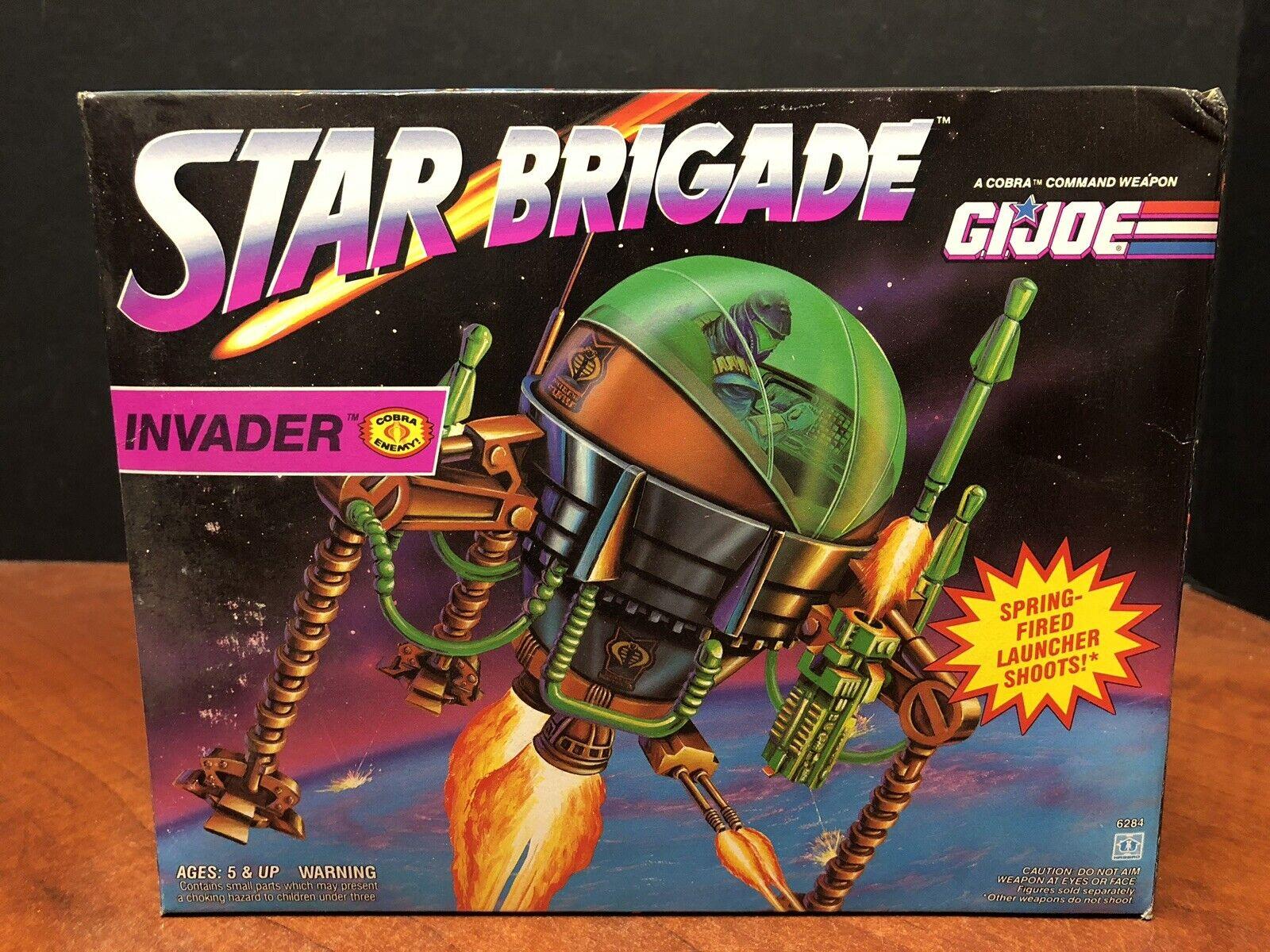 GI Joe 1993 Star Brigade Invader Sealed Dela0182