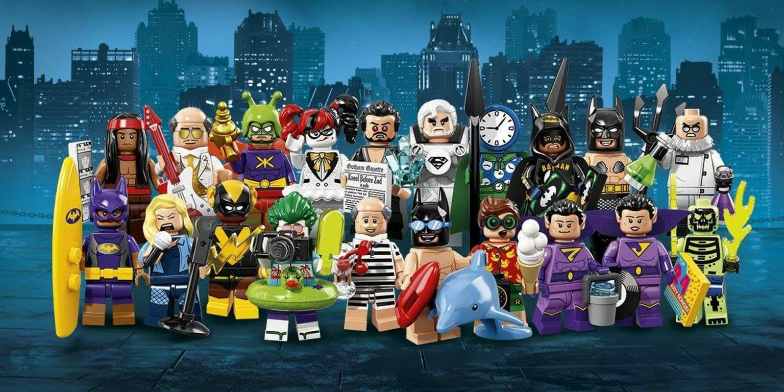 LEGO 71020 - Batman Movie Series 2 - Collectible Mini Figure Set - 20 Minifigs