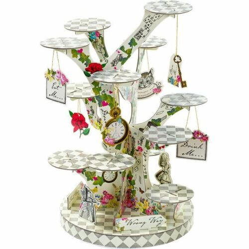 Truly Alice in Wonderland Party Child Birthday Table Wear Summer BBQ Theme Boho