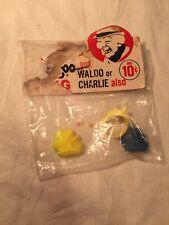 Mr. Magoo And Waldo Or Charlie Vintage Ring
