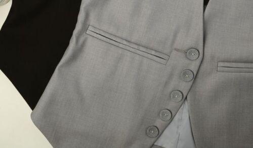 Women Lady Casual Office Waistcoat Gilet Formal Slim Vest Sleeveless Coat Jacket