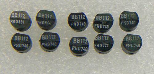 10 Stück  BB112  Kapazitätsdioden Kapazitätsdiode Varaktor für AM = orig Philips