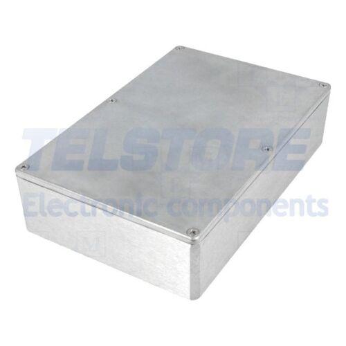 1pcs  Contenitore cassa custodia X 146mm Y 222mm Z 55mm alluminio naturale TELST