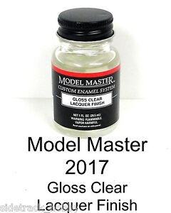 about model master 2017 gloss clear finish 1 oz lacquer paint bottle. Black Bedroom Furniture Sets. Home Design Ideas