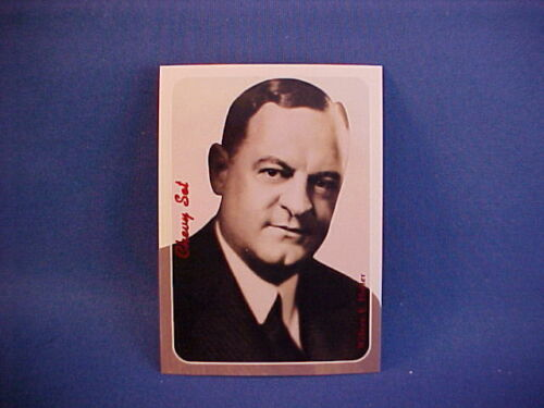 Holler--Chevrolet General Sales Manager collector card from set--new William E
