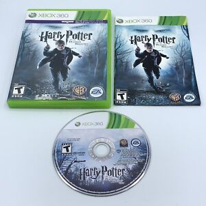 Harry Potter and the Deathly Hallows: Part 1 (Microsoft Xbox 360, 2010) Complete
