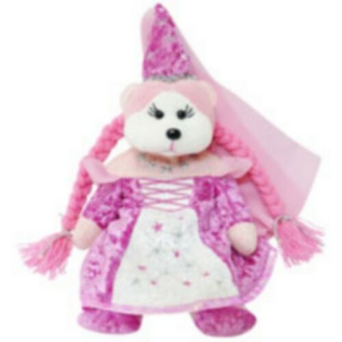 "SKANSEN BEANIE KIDS /""LADY LUCINDA/"" THE BEAR MINT WITH MINT TAG"